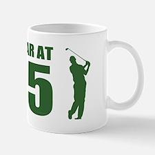Golfer's 65th Birthday Mugs