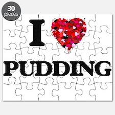 I Love Pudding Puzzle