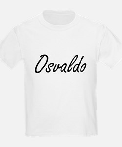 Osvaldo Artistic Name Design T-Shirt