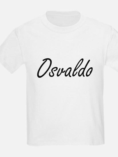 Osvaldo Artistic Name Design T-Shirt