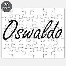 Oswaldo Artistic Name Design Puzzle