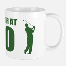 Golfer's 70th Birthday Mugs