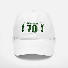 Golfer's 70th Birthday Baseball Baseball Cap