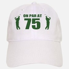Golfer's 75th Birthday Baseball Baseball Cap