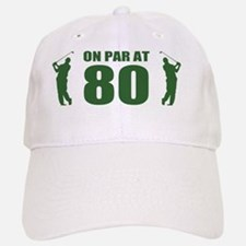 Golfer's 80th Birthday Baseball Baseball Cap