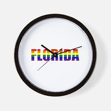 Florida Pride Wall Clock