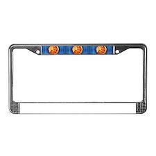 leo horoscope License Plate Frame