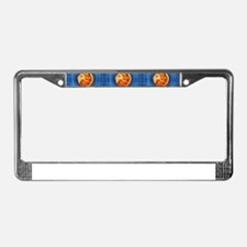 leo horoscope License Plate Frame
