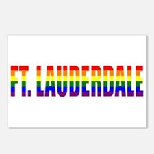 Ft. Lauderdale, Florida Postcards (Package of 8)