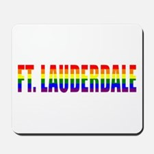Ft. Lauderdale, Florida Mousepad