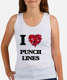 I Love Punch Lines Tank Top