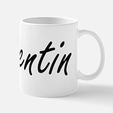Quentin Artistic Name Design Small Small Mug
