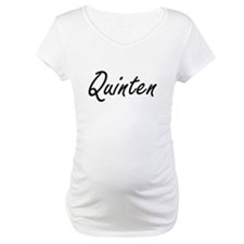 Quinten Artistic Name Design Shirt
