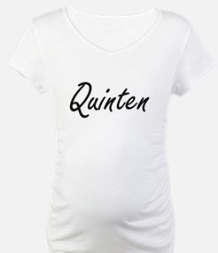 Quinten Artistic Name Design Shirt