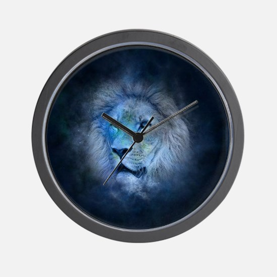 leo lion Wall Clock