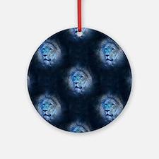 leo lion Round Ornament