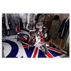 JIMMY'S SCOOTER. MOD Poster