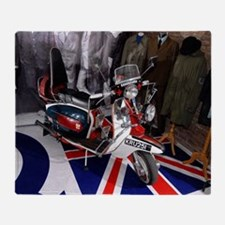 JIMMY'S SCOOTER. MOD Throw Blanket