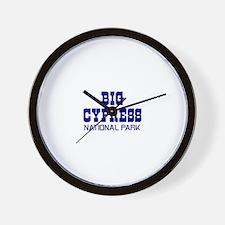 Big Cypress National Park Wall Clock