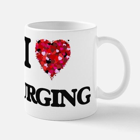 I Love Purging Mug
