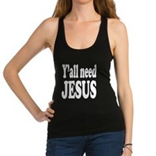 Unique Funny christian Racerback Tank Top