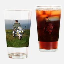 PRETTY GREEN , MODS Drinking Glass