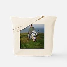 PRETTY GREEN , MODS Tote Bag