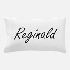 Reginald Artistic Name Design Pillow Case