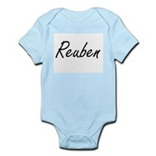 Reuben Artistic Name Design Body Suit
