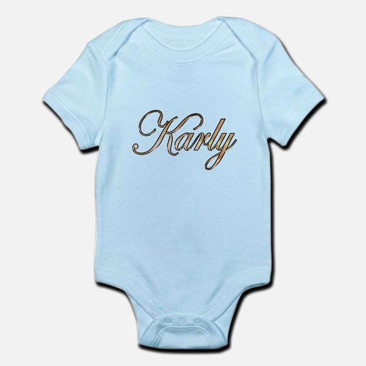 Gold Karly Body Suit