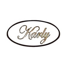 Gold Karly Patch