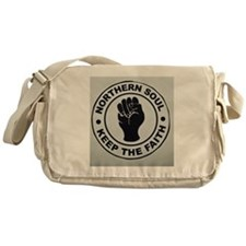 KEEP THE FAITH  Messenger Bag