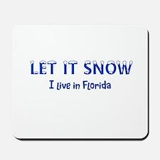 I Live In Florida Mousepad