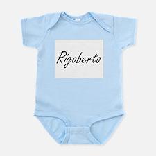 Rigoberto Artistic Name Design Body Suit