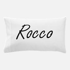 Rocco Artistic Name Design Pillow Case