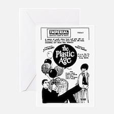 Clara Bow Plastic Age Greeting Card