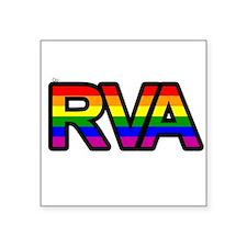 "Cute Richmond Square Sticker 3"" x 3"""