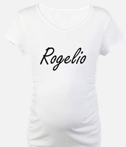 Rogelio Artistic Name Design Shirt