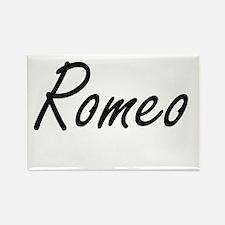 Romeo Artistic Name Design Magnets