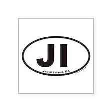"Cool Islander Square Sticker 3"" x 3"""