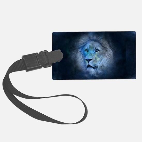 leo lion Luggage Tag
