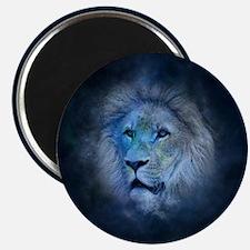 leo lion Magnets