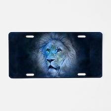 leo lion Aluminum License Plate