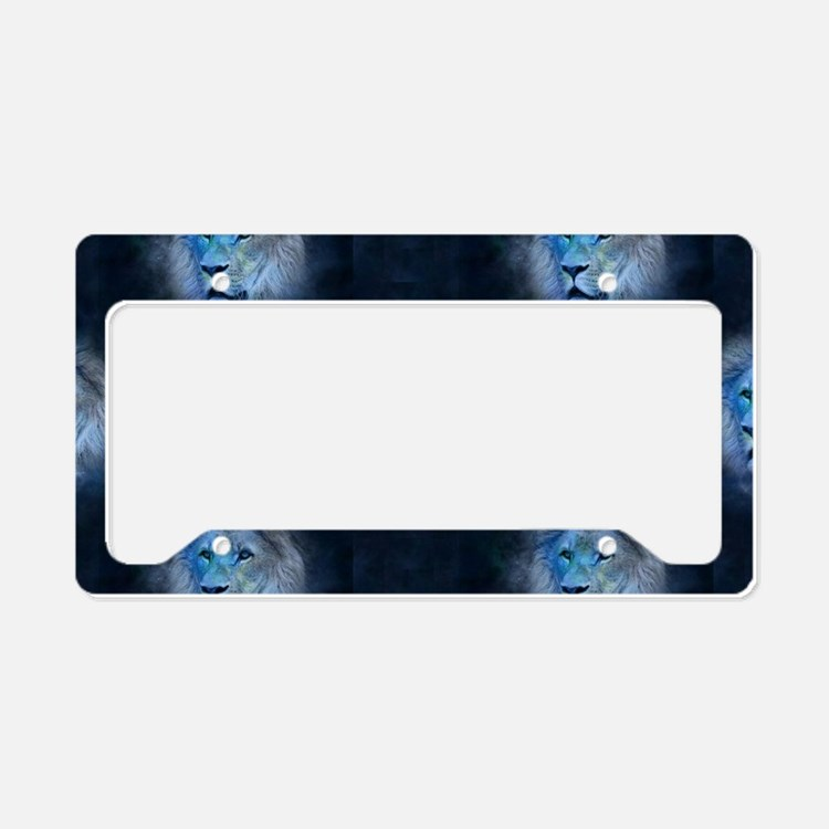 leo lion License Plate Holder