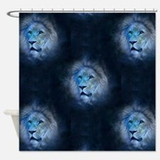 leo lion Shower Curtain