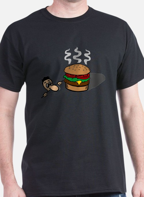 Giant Cheeseburger in the House T-Shirt