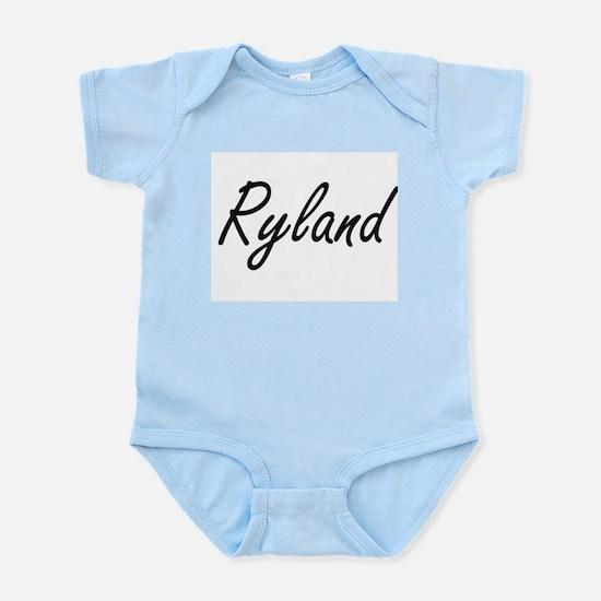 Ryland Artistic Name Design Body Suit
