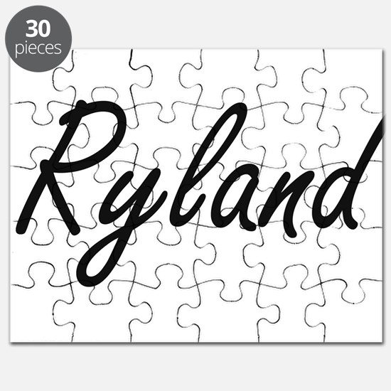 Ryland Artistic Name Design Puzzle
