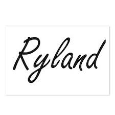 Ryland Artistic Name Desi Postcards (Package of 8)
