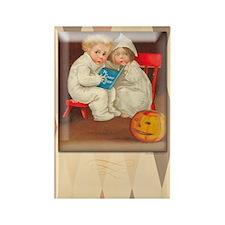 TLK010 Halloween Fright Rectangle Magnet